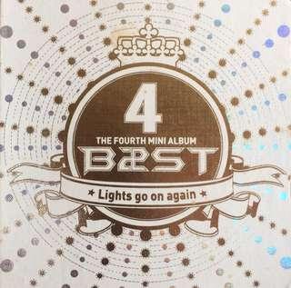 BEAST/HIGHLIGHT 4th MINI ALBUM - LIGHTS GO ON AGAIN
