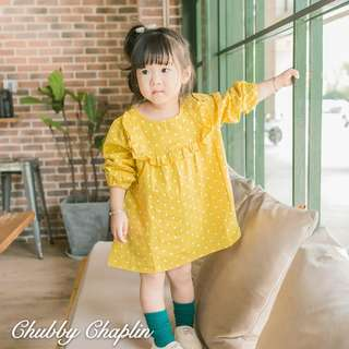 Polka Dots Toddler Dress