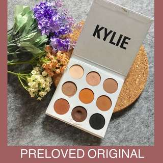 Preloved Kylie Kyshadow The Bronze Palette Ori Original