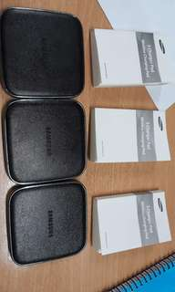 Brandnew Original Wireless Charger Pad for SAMSUNG S-SERIES - Original Price P2,990 at Samsung Store