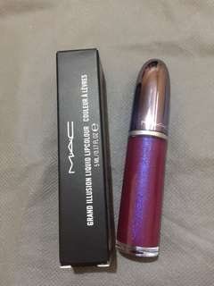 MAC Grand illusion liquid lipcolor