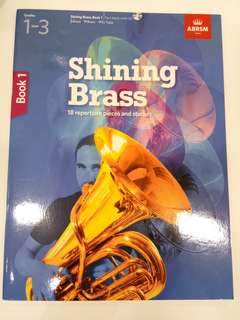 ABRSM Shining Brass Book 1: Grades 1-3 with CD Book/Score (CLEARANCE!!)