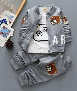 Set Jacket Bear