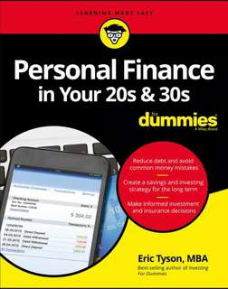 Personal Finance in Your 20s and 30s For Dummies ebook