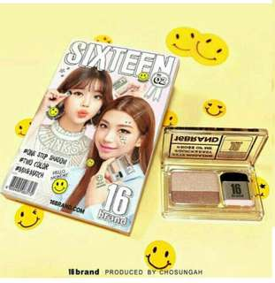 Eyeshadow Sixteen Brand