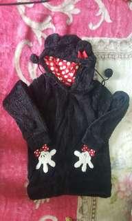 Original disney fur hoodie jacket