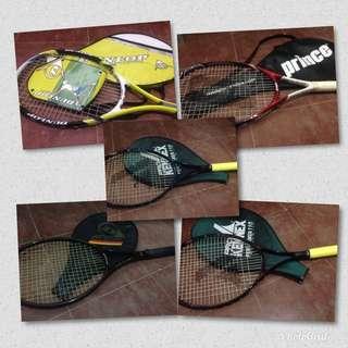 take all tennis rackets
