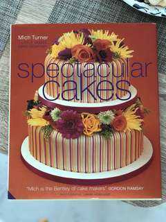 Cookbook for cake decorating and cake recipes