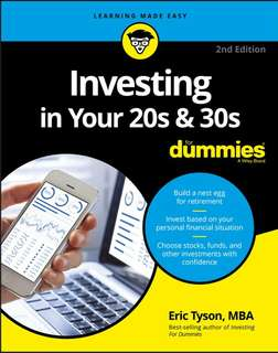 Investing in Your 20s and 30s For Dummies ebook