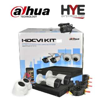 DAHUA KIT PACKAGE 720P 4 CHANNEL WITH HDD 1 TB