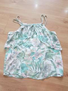 MNG floral top (XS)