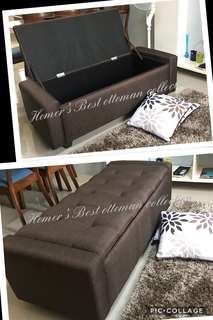 New high quality ottoman with  spacious  storage