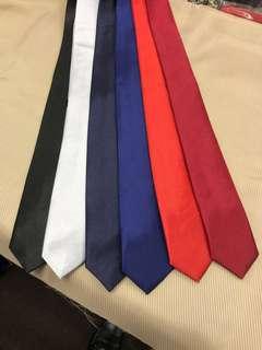 BN Men Plain Silk Neck Tie