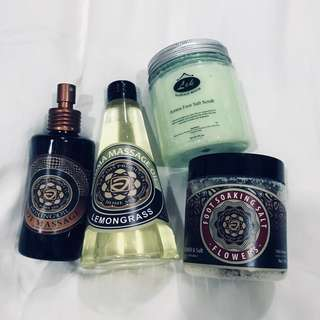 Massage and spa items