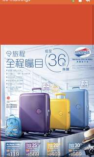 American Tourister 60% off