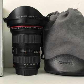 Canon EF 16-35mm F2.8 L II USM 公司貨