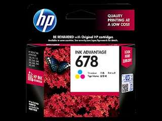 HP Ink 678 Colored