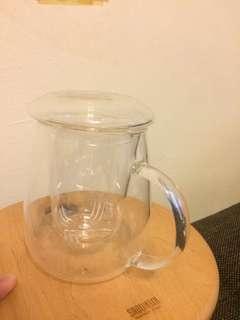 🚚 玻璃泡茶杯