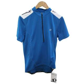 Cycling Gear Pearl Izumi Men's Jersey QUEST Blue Top M New