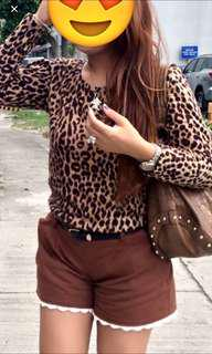 Leopard Long Sleeves