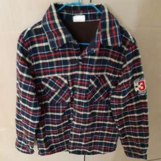 🚚 13號厚棉 格子 襯衫