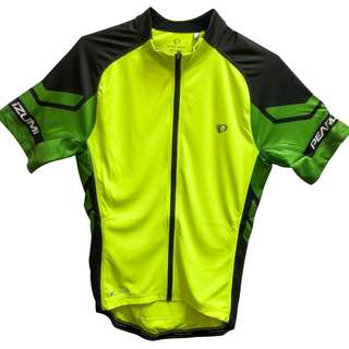 Cycling Gear Pearl Izumi Men's Jersey ELITE Yellow Green Top S / M New