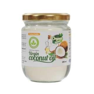 Malaysia Cold Pressed Organic Virgin Coconut Oil - 200ml