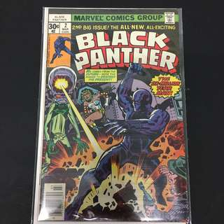 Black Panther 2 Marvel Comics Book Stan Lee Movie Avengers