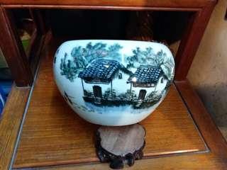 景德鎮~ 風景水鄉~瓷器皿/水洗
