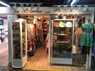 La Blanche vintage shop Hong Kong