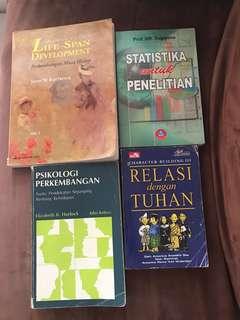 Buku-buku Psikologi (4 buku)
