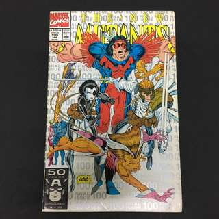 New Mutants 100 Marvel Comics Book Rob Liefeld Movie Deadpool X-Force