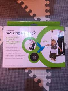 UpSpring Baby Walking Wings For Learning To Walk - Gray Gris