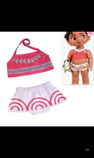 Instock now !! Baby moana set brand new size for 1-4yrs old