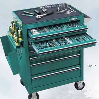 Sata 95107P-15A 7Drawer 298pcs Tool Trolley Set
