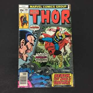 Thor 268 Marvel Comics Book Stan Lee Movie Avengers