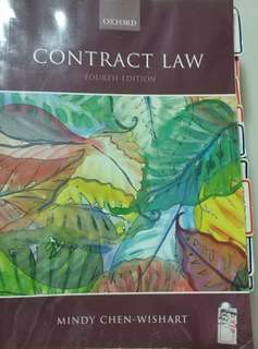 """Contract Law Fourth Edition 2012 """"Mindy Chen"""" (Oxford)"""