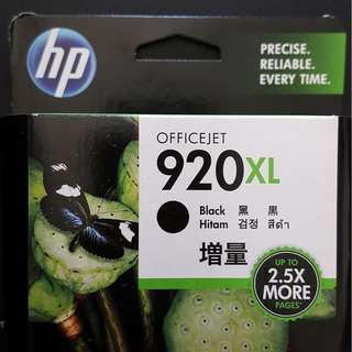 Brand New HP 920 XL up to 1200 pages cartridge valid till March 2019