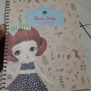 Buku diary spiral