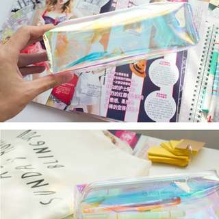 [PO] BN Holographic pencil case