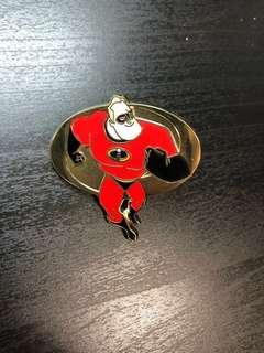 迪士尼 彼思 超人特工隊 襟章 徽章 Disney Pixar The Incredibles pins