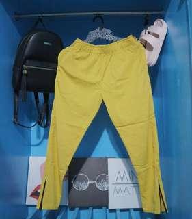 Mustard Cany Pants