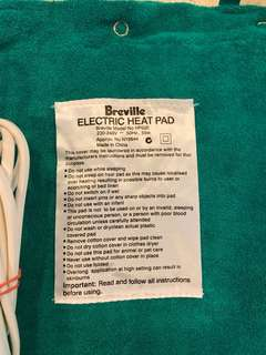 Breville Electric Heat Pad