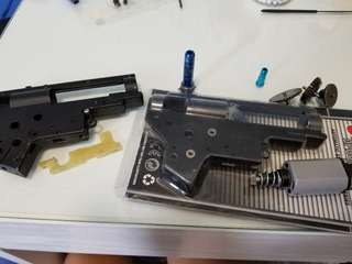BB彈槍 m4 upgrade replacement parts airsoft v2 gearbox