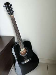 Fender acoustic guitar CD60