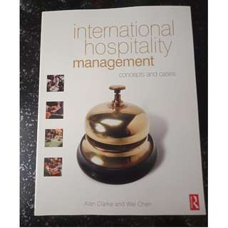 Used International Hospitality Management