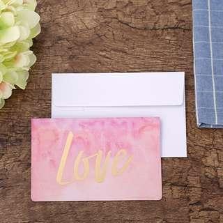 ($5)Love card連信封