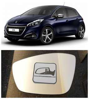 Peugeot 208 308 408 2008 side mirror all models and series