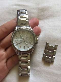 Authentic Giordano ladies watch silver