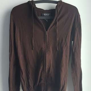 GREENLIGHT BROWN KNIT JACKET